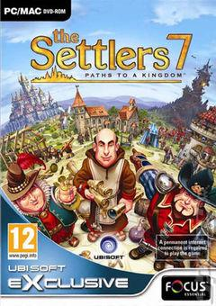 Box art for The Settlers 7: Paths to a Kingdom