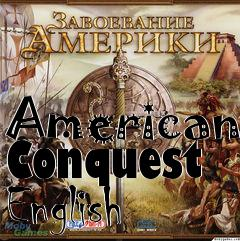 Box art for American Conquest English