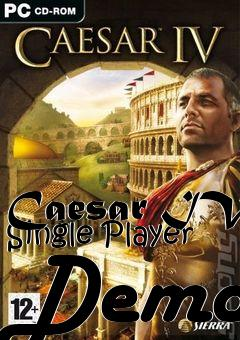 Box art for Caesar IV Single Player Demo