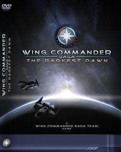 Box art for Wing Commander Saga The Darkest Dawn