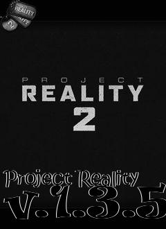 Box art for Project Reality v.1.3.5
