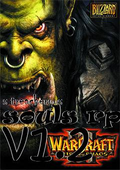 Box art for s treacherous souls rpg v1.2