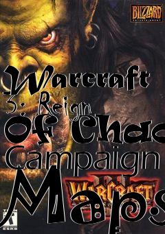 Warcraft 3 Reign Of Chaos Campaign Maps Map Level Free Download
