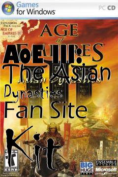 Box art for AoE III: The Asian Dynasties Fan Site Kit
