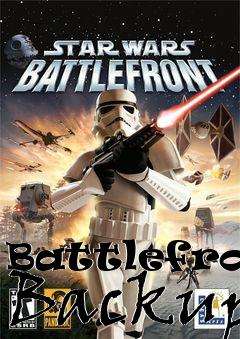 Box art for Battlefront Backup