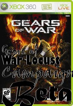 Box art for Gears of War Locust Campaign Beta