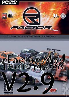 Box art for rFactor Mod Touring Masters v2.9