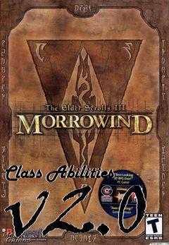 Class Abilities v2 0 mod Elder Scrolls III: Morrowind free