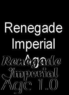Box art for Renegade Imperial Age 1.0