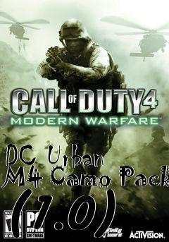 Box art for DC Urban M4 Camo Pack (1.0)