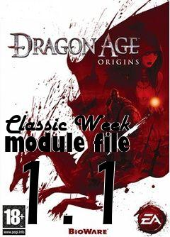 Box art for Classic Week module file 1.1