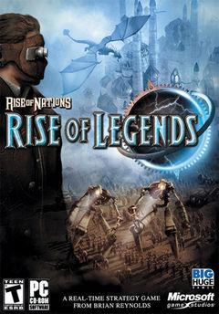 Box art for Rise Of Nations: Rise Of Legends Motter