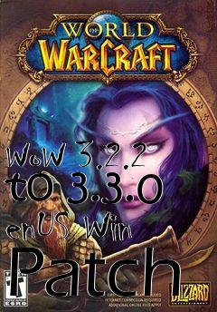 Patch world of warcraft 3. 2.