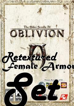 Retextured Female Armor Set patch Elder Scrolls IV: Oblivion