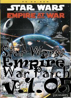 Box art for Star Wars: Empire at War Patch v.1.05