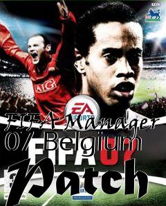 Box art for FIFA Manager 07 Belgium Patch