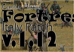 Box art for Combat Mission Fortress Italy Patch v.1.12