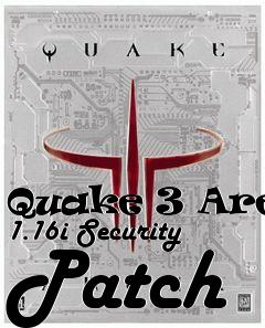 Box art for Quake 3 Arena 1.16i Security Patch