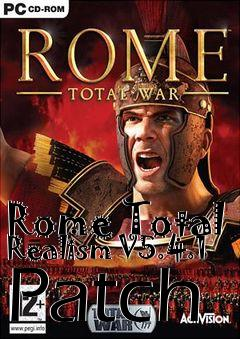 Box art for Rome Total Realism V5.4.1 Patch