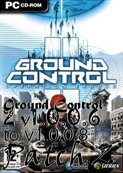 ground control 2 patch 1.0.0.8