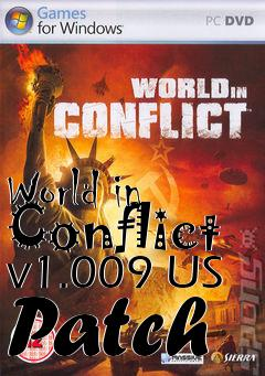 Box art for World in Conflict v1.009 US Patch
