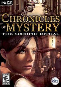 Box art for Chronicles Of Mystery: The Scorpio Ritual