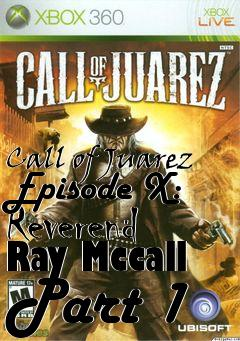 Box art for Call of Juarez