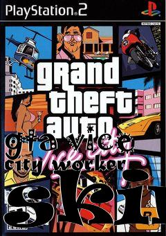 Box art for gta vice city worker skin