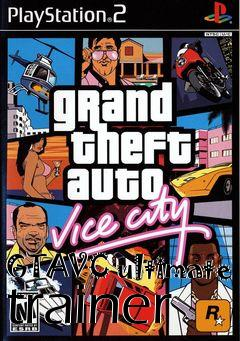 Box art for GTAVC ultimate trainer