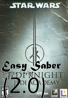 Box art for Easy Saber Editing Script (2.0)