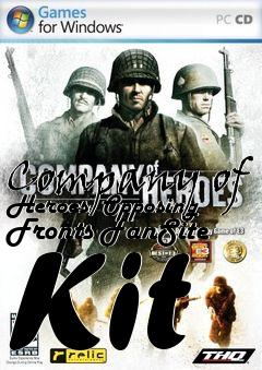 Box art for Company of Heroes: Opposing Fronts FanSite Kit