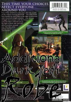 Box art for Additional Dark Jedi Robe