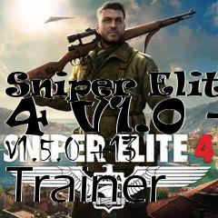 Box art for Sniper Elite 4 V1.0 - V1.5.0 +13 Trainer