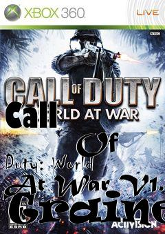 world at war trainer