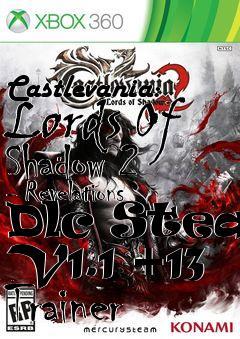 Castlevania: Lords Of Shadow 2 - Revelations Dlc Steam V1 1 +13