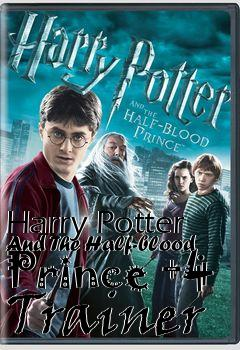 Box art for Harry Potter And The Half-blood Prince +4 Trainer