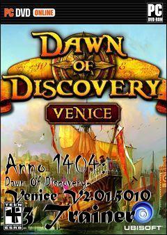 Anno 1404 Dawn Of Discovery Venice V2015010 3 Trainer