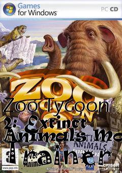 Zoo Tycoon 2: Extinct Animals Money Trainer free download : LoneBullet