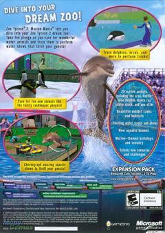 Zoo Tycoon 2: Marine Mania Money Trainer free download : LoneBullet