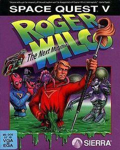 Box art for Space Quest V - The Next Mutation