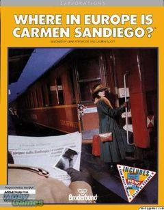 Box art for Where in Europe is Carmen Sandiego