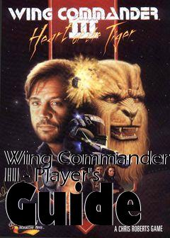 Box art for Wing Commander III - Player