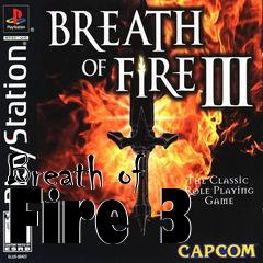 Box art for Breath of Fire 3
