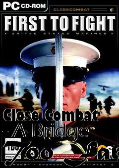 Box art for Close Combat - A Bridge Too Far
