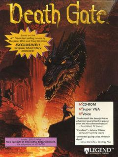 Box art for Death Gate