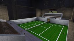 Tennis Death Match Map screenshot