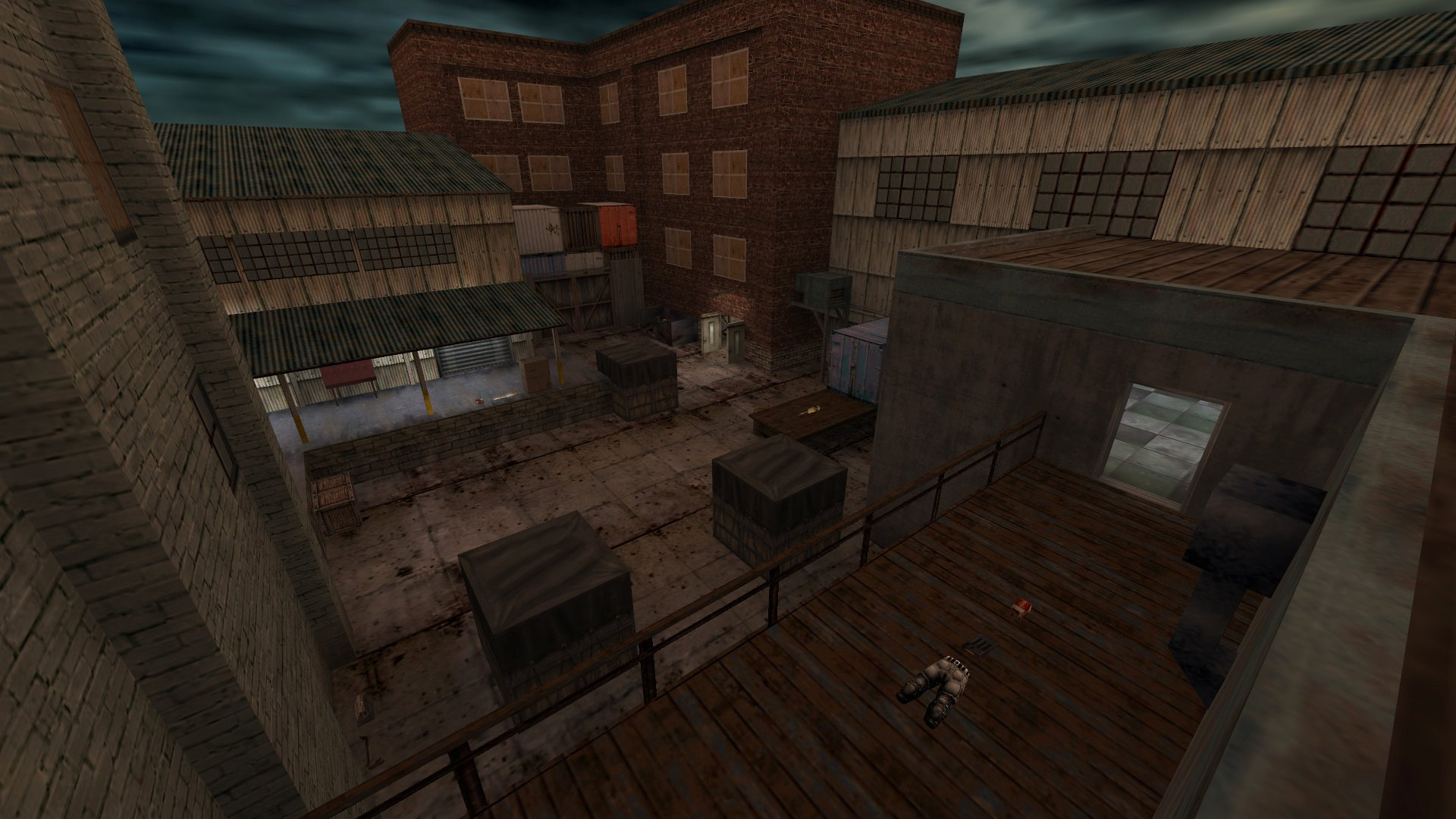 Fear Factory Death Match Map screenshot