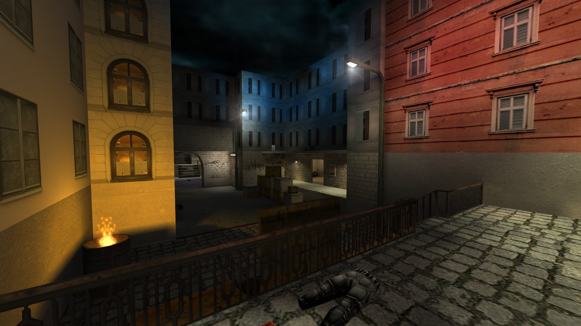 Street DM Death Match Map screenshot