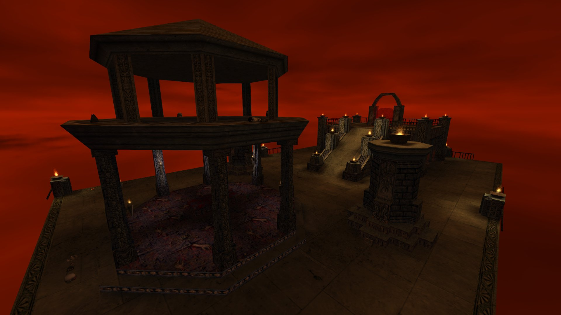 Hellgate Kingpin Death match Map screenshot