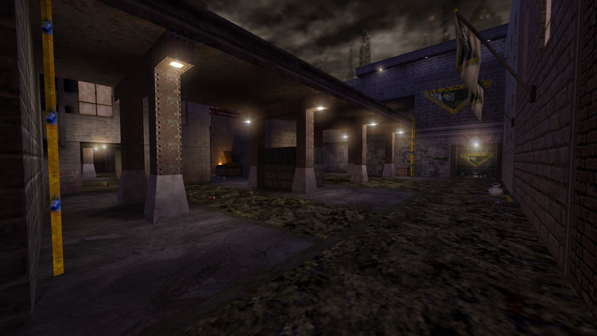 Team Overpass Bagman Map screenshot